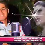 Nacional: Lanzan tema a la selección peruana en versión cumbia