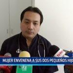 Chiclayo: Mujer envenena a sus dos pequeños hijos