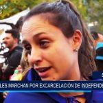 España: Miles marcharon por excarcelación de independentistas