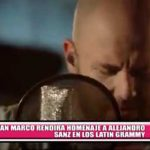 Nacional: Gian Marco rendirá homenaje a Alejandro Sanz en los Latin Grammy