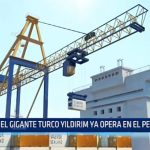 El gigante turco Yildirim competirá por el puerto de Salaverry