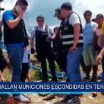 Iquitos: Hallan municiones escondidas en terreno