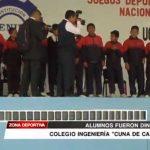 Deportes: Alumnos del colegio Ingeniería fueron distinguidos