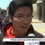 Fútbol: Trujillanos dejan mensajes a la selección