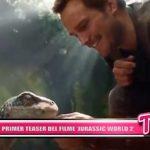 "Presenta el primer teaser del filme ""Jurassic World 2"""