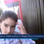 Chiclayo: Del Castillo acude al Poder Judicial a firmar tras su excarcelación