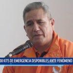 Defensa Civil: 800 kits de emergencia disponibles ante fenómeno natural