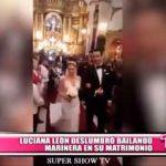 Nacional: Luciana León deslumbró bailando marinera en su matrimonio