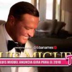 Internacional: Luis Miguel anuncia gira para el 2018