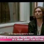 Nacional: Meier es premiado como director en el Miami Short Film Festival
