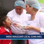 MIDIS: Ministra Fiorella Molinelli inauguró local Cuna Más en El Porvenir