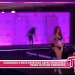 Candidata a Miss Universo sufre aparatosa caída en pleno concurso