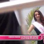 Larizza Farfán, la policía que aspira a ser reina de belleza