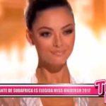 Representante de Sudáfrica es elegida Miss Universo 2017