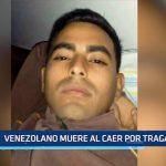 Venezolano muere al caer por tragaluz