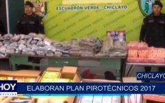 Chiclayo: Elaboran Plan Pirotécnicos 2017