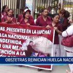 Piura: Obstetras renician huelga nacional