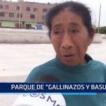 Chiclayo: Parque de gallinazos y basura
