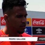Fútbol: Pedro Gallese habla del encuentro contra Nueva Zelanda