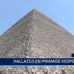 Egipto: Hallazgo en pirámide Keops