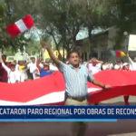 PIURA: Acataron paro regional por obras de reconstrucción