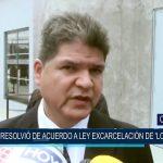 """Poder Judicial resolvió de acuerdo a ley excarcelación de """"los limpios"""""""