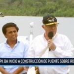 Iquitos: PPK da inicio a construcción de puente sobre río Nanay