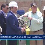 Trujillo: PPK Inaugura planta de gas natural en Moche