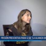 """Prisión preventiva para 12 de """" La Alianza del Valle"""""""
