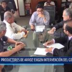 Chiclayo: Productores de arroz exigen intervención del Gobierno