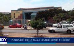 Trujillo: Puntos críticos en agua y desagüe no son atendidos