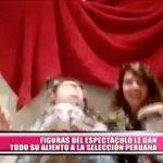 Nacional: Figuras del espectáculo le dan todo su aliento a la selección peruana