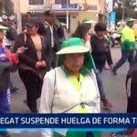 Trujillo: Segat suspende huelga de forma temporal