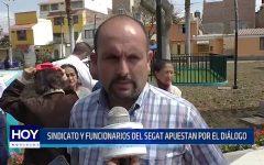 SEGAT: Sindicato y Funcionarios apuestan por el diálogo