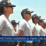 PNP: Efectivos cuidarán al Papa con su vida