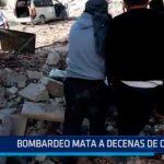 Bombardeo mata a decenas de civiles en Siria