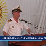 Argentina: Continua búsqueda de submarino desaparecido