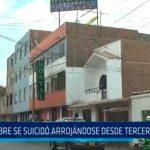 Trujillo: Hombre se suicidó arrojándose desde tercer piso de hotel