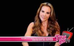 Televisa estaría preparando demanda contra Kate del Castillo