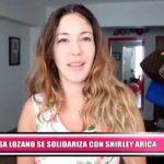 Nacional: Tilsa Lozano se solidariza con Shirley Arica