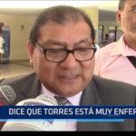 CHICLAYO: Abogado de Exalcalde dice que Torres esta muy enfermo en el penal