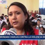 Chiclayo:Brindan charlas contra la violencia de género
