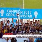 Alianza Lima logra campeonato después de 11 años