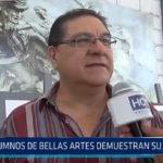 Trujillo: Alumnos de Bellas Artes demuestran su habilidad