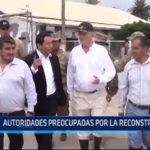 Chiclayo: Autoridades preocupadas por la reconstrucción