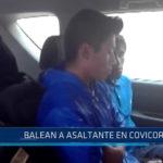 Trujillo: Balean a asaltante en covicorti