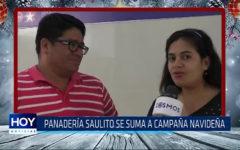 Trujillo: Panadería Saulito se suma a campaña navideña