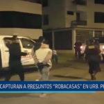 """Trujillo: Capturan a presuntos """"Robacasas"""" en la urbanización Primavera"""