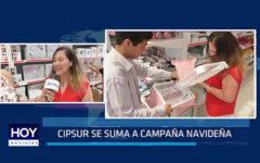 Cipsur se suma a campaña navideña
