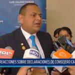 Reacciones sobre declaraciones de consejero castellanos